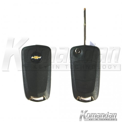 CHEFRK01 Flip Remote Key Chevrolet Captiva 3B